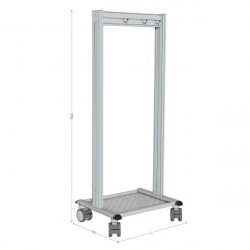 5S mobile cleaning station   NETPOST 600