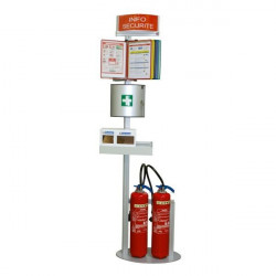 Safety terminal for fire extinguisher | Safety terminal